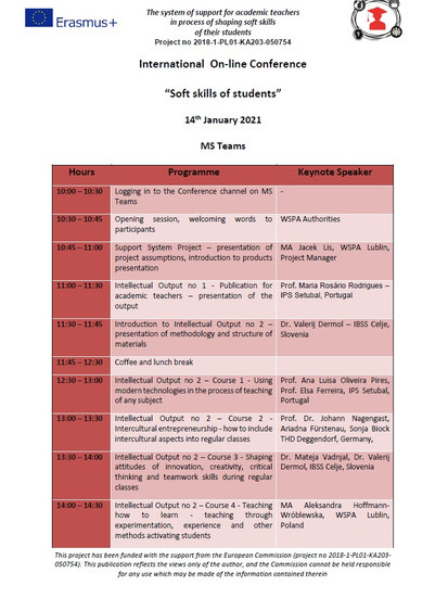 Conference Programme 1