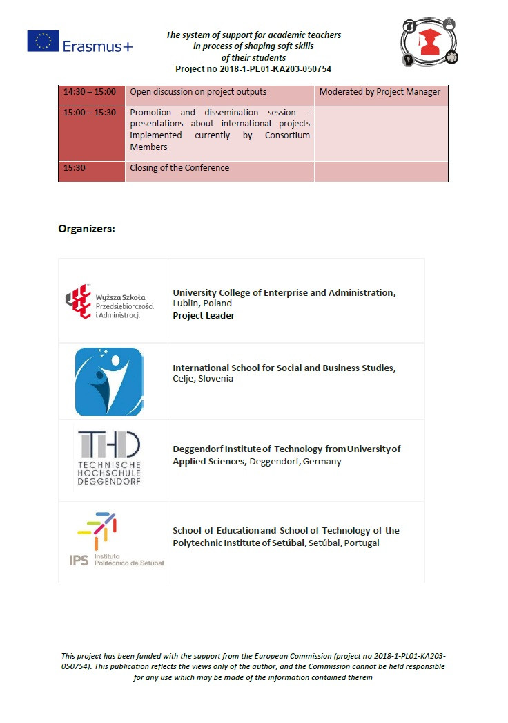 Conference Programme 2