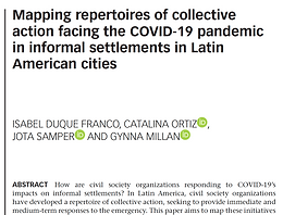 Mapping Repertoires of Collective Action [PAPER]