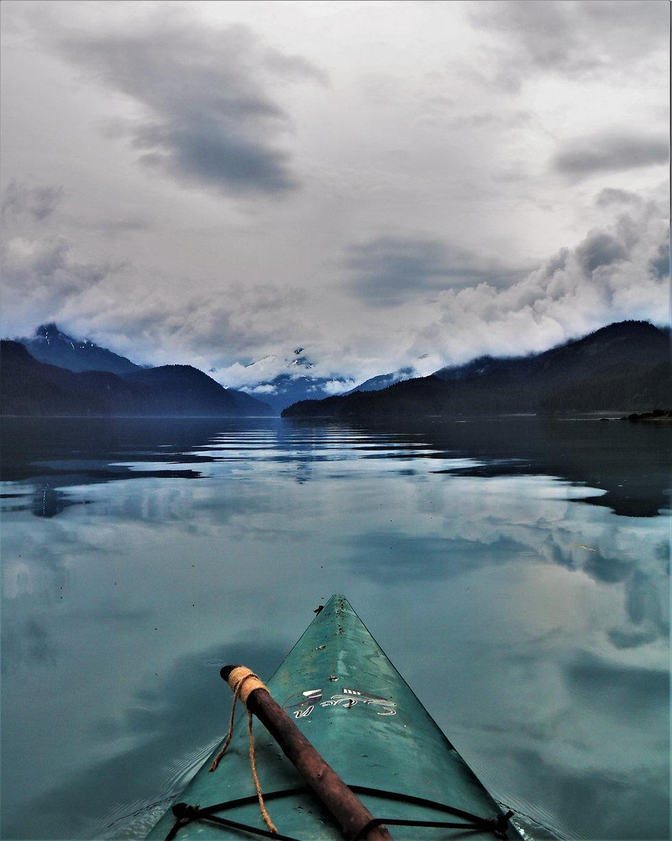 Kayaking in Homer Alaska