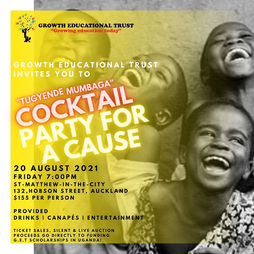 TUGYENDE MUMBAGA Cocktail Party For A Cause