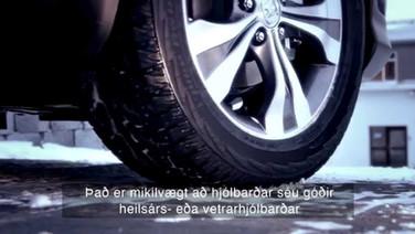 Undirbúningur fyrir vetrarakstur - hjólbarðar