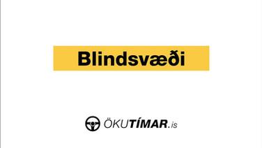 Blindsvæði