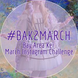 #BAK2MARCH INSTAGRAM CHALLENGE