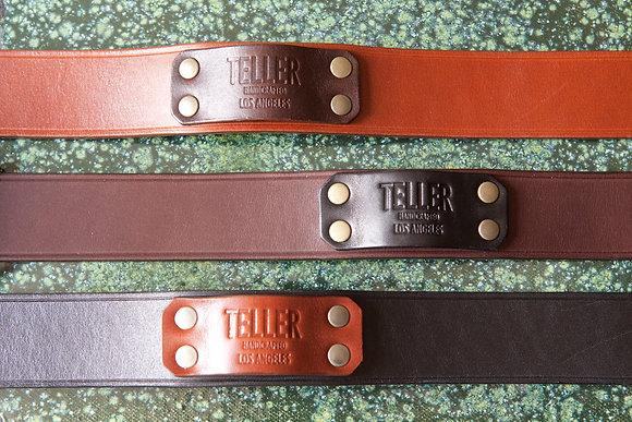 Belt (English bridle leather/ Dark brown)