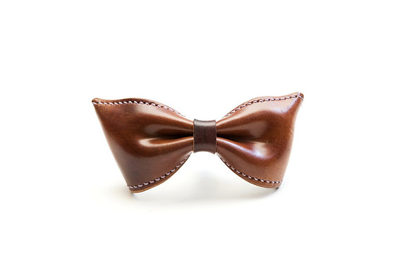 BOW TIE (HORWEEN Color 8 based marble shell cordovan)