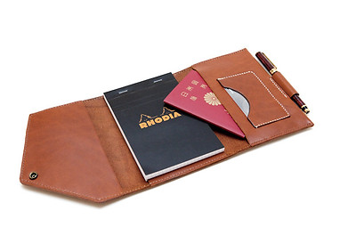 PASSPORT & NO.14 RHODIA PAD CASE