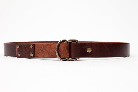 RED ROCK (Horween Legacy D-ring Belt)