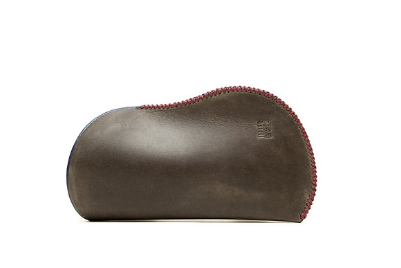 Nubuck leather sleeve (wide)