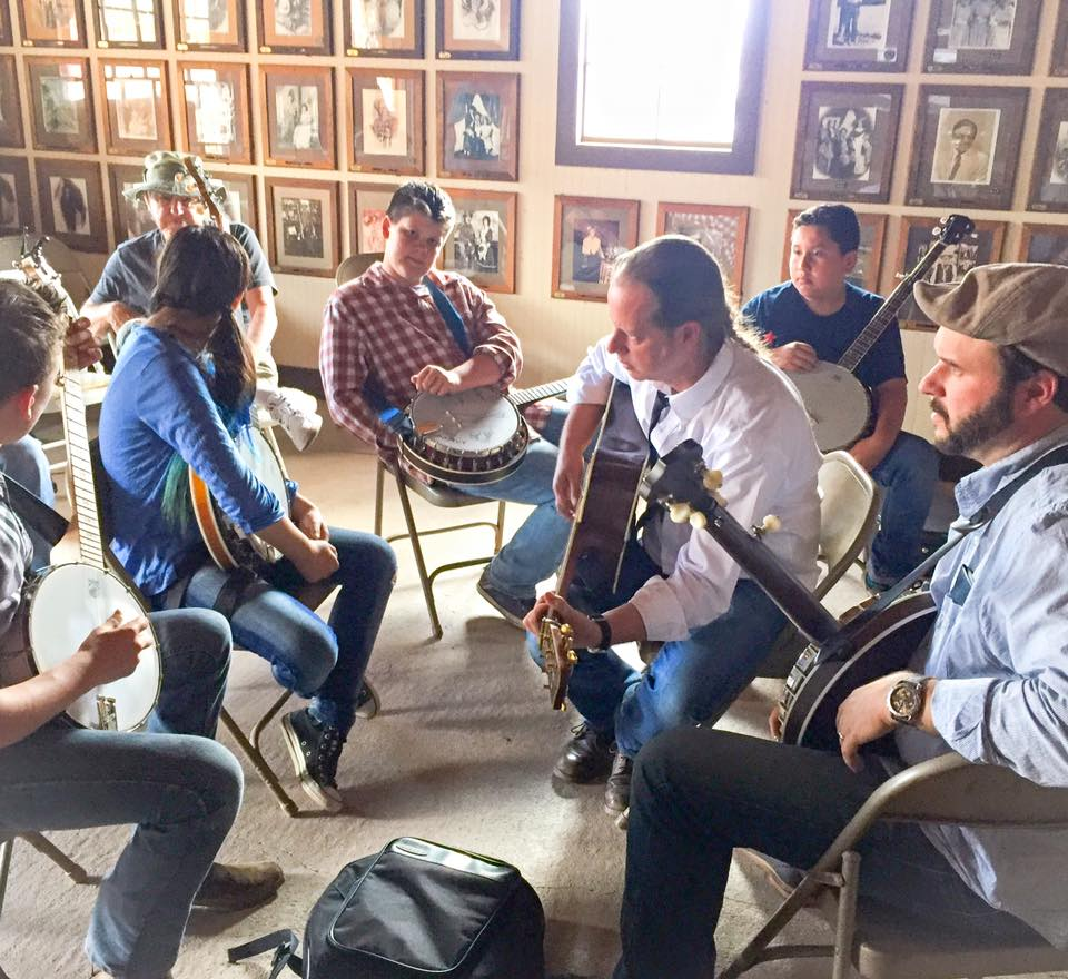 Teaching at Calico Bluegrass Festiva