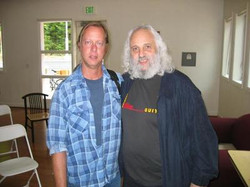 Me & David (Dawg) Grisman