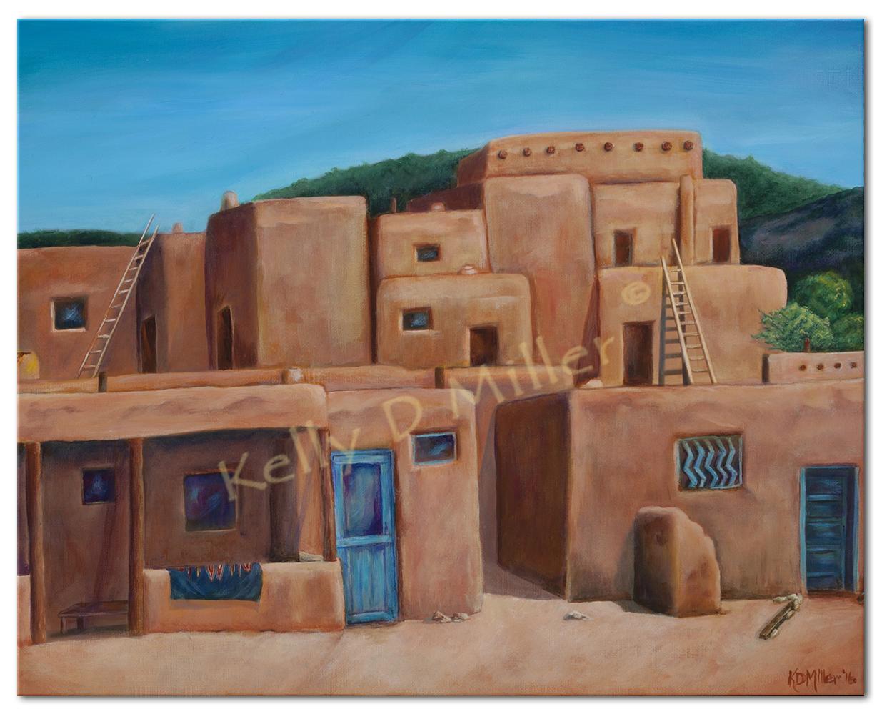 Taos Pueblo_100dpi_nofrme_boarder