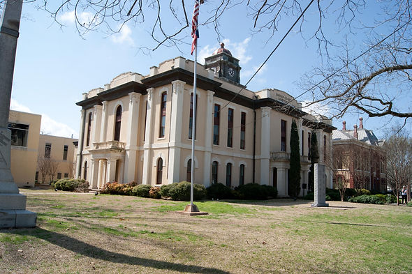 Bastrop Co Courthouse 2, 1883 (Jim Bell,