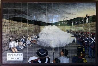 Monument Hill Execution painting, La Gra
