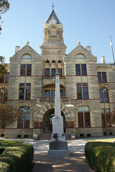 Fayette County Courthouse (Jim Bell, dat