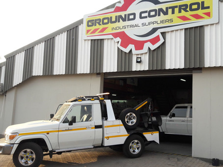 NEW Mine Site Tow Truck Conversion with HALO ROPS in Botswana.