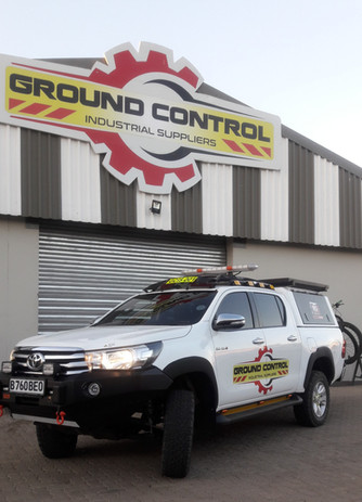 Ground Control Toyota Hilux with H16 HALO
