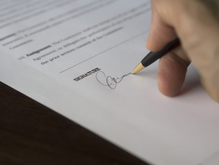Contract - What to Know Before You Sign
