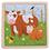 Thumbnail: Puzzle animaux 16 pcs - 6 modèles