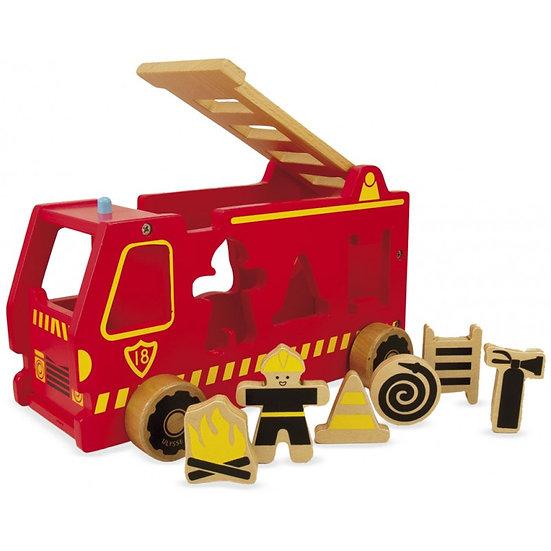 Camion de pompiers - formes