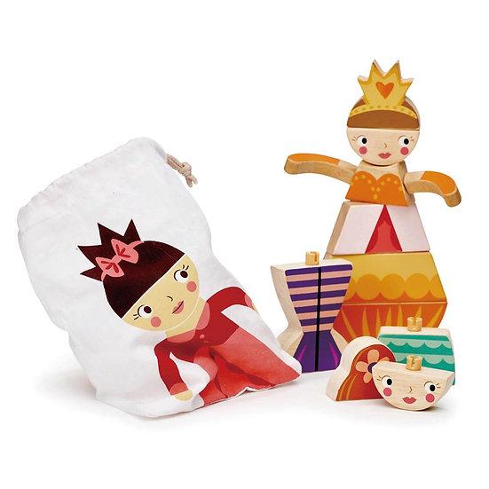 Blocs puzzle - Princesses et Sirènes