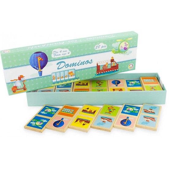 Dominos - Transports