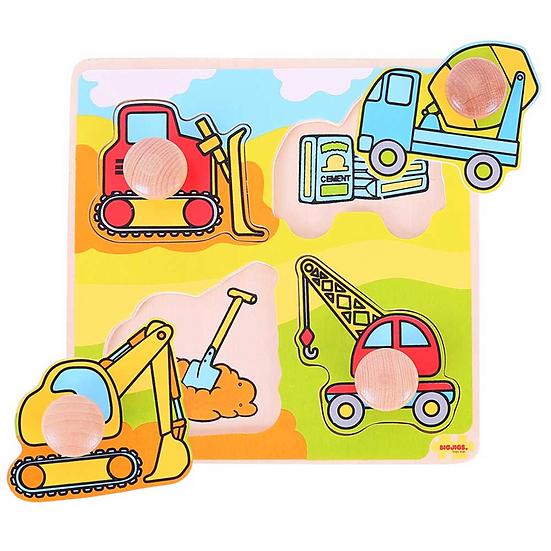 Puzzle gros boutons - 4 modèles