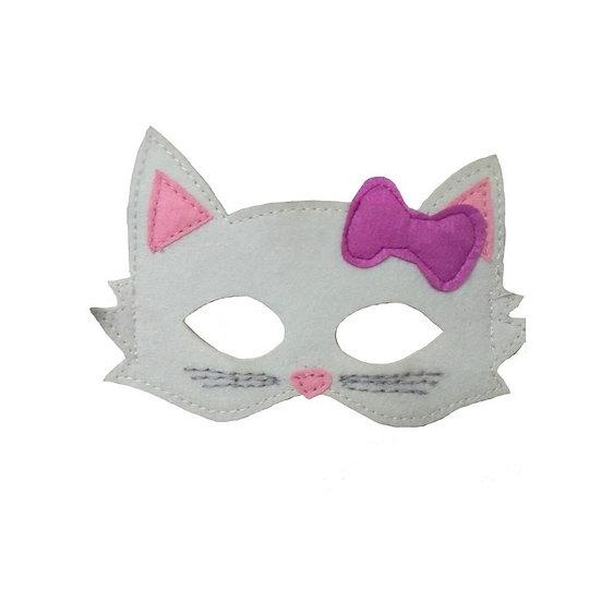 Masque en feutre - chat