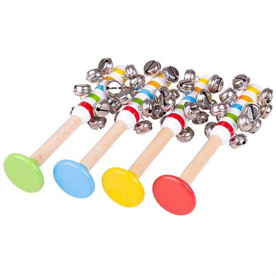 Bâton à clochettes - Étoiles