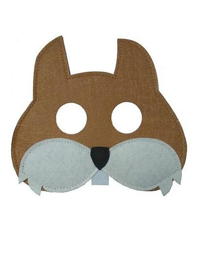 Masque en feutre - écureuil