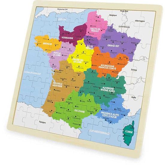 Puzzle - France (72 pcs)