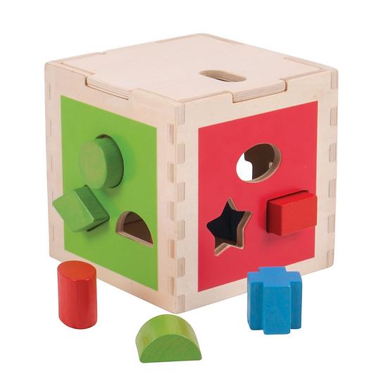 Cube de tri - formes et couleurs