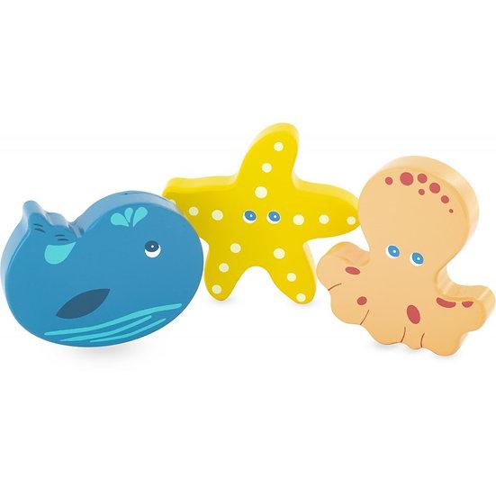 Mini maracas - la mer - 3 modèles
