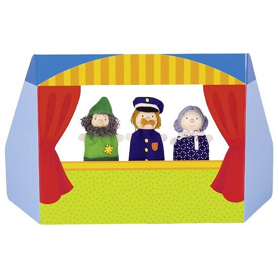 Théâtre de marionettes à doigts III
