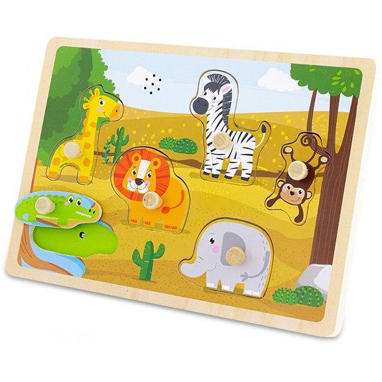 Puzzle sonore - safari