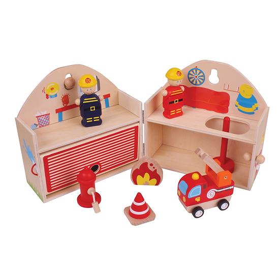 Mini caserne de pompiers