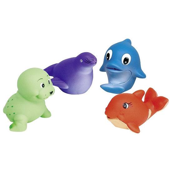 Animal cracheur d'eau, baleine & co