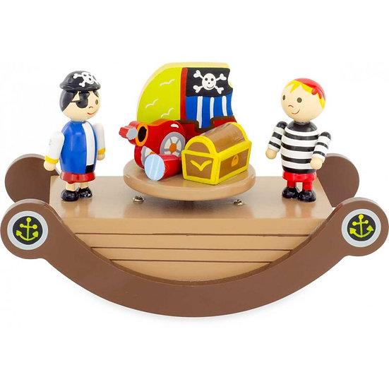 Bascule musicale - pirates