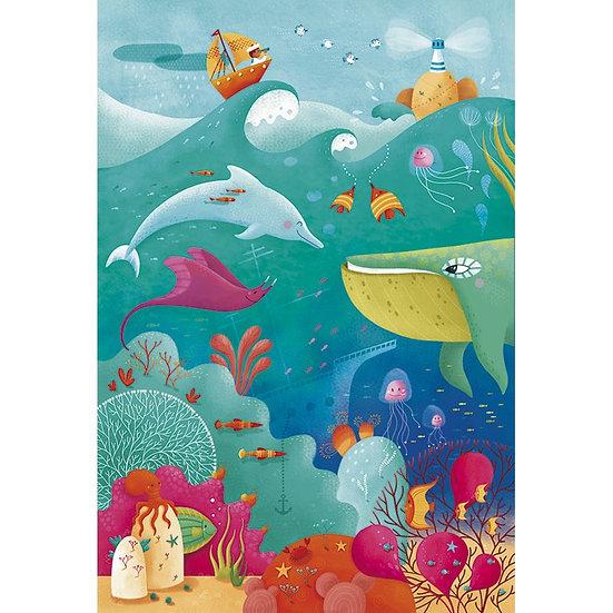 Puzzle géant - Mer