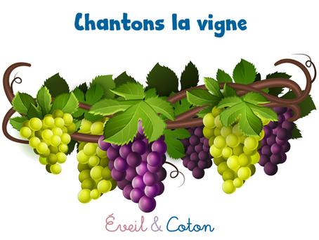"""Fiche """"Chantons la vigne"""""""