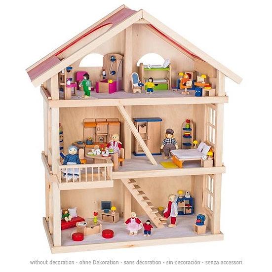 Maison de poupées - 3 niveaux