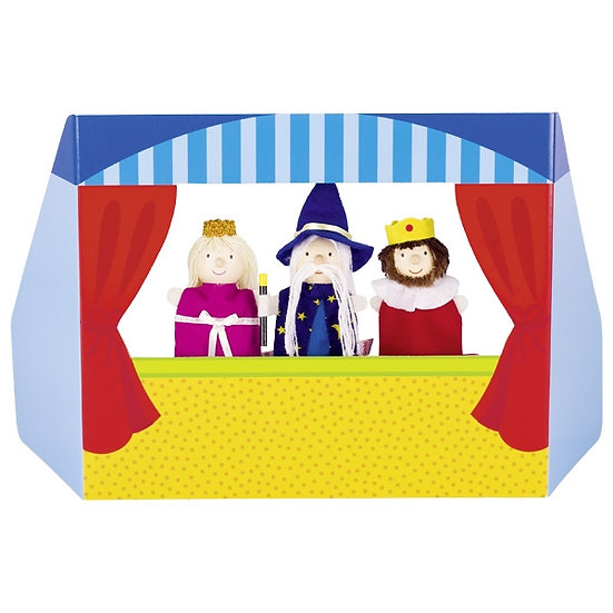 Théâtre de marionnettes à doigts II
