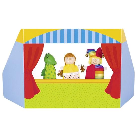 Théâtre de marionnettes à doigts I