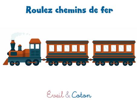 """Fiche """"Roulez chemins de fer"""""""