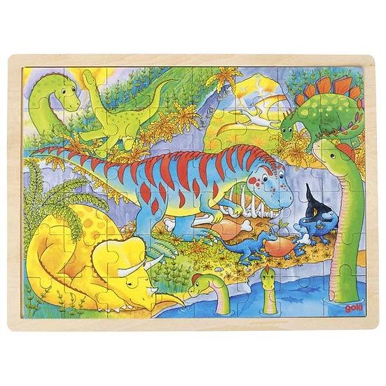 Puzzle dinosaures - 48 pièces