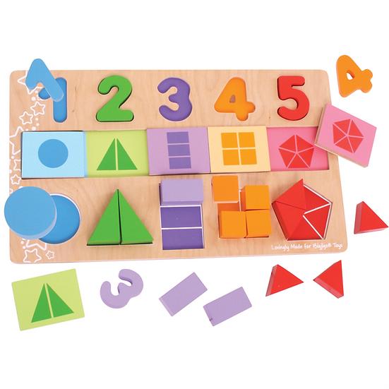 Mon premier puzzle de fractions