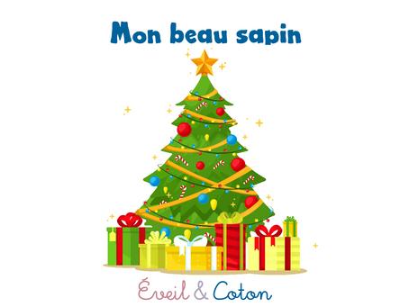 "Fiche ""Mon beau sapin"""