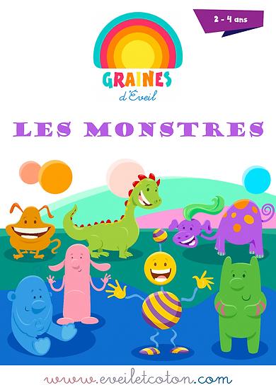 Les Monstres - 2/4 ans