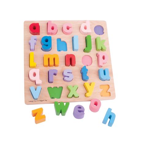 Puzzle alphabet - minuscules ou majuscules