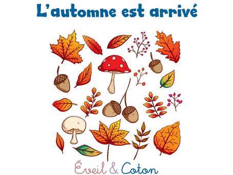"""Fiche """"L'automne est arrivé"""""""
